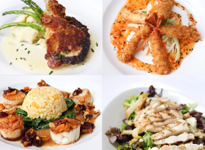A sampling of Chef Fleming's creating